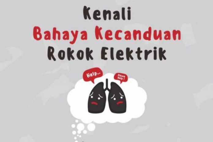 Kenali Bahaya Kecanduan Rokok Elektrik